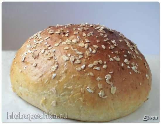 Немецкий картофельный хлеб с геркулесом (Hafer Kartoffel Brot)