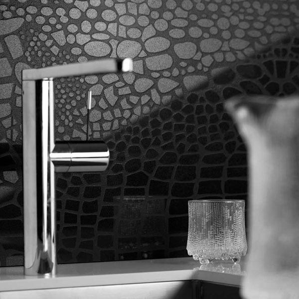 CaesarStone Motivo - Backsplash (Crocodile) | Suds | Pinterest | Kitchens,  Kitchen black and Tile wood