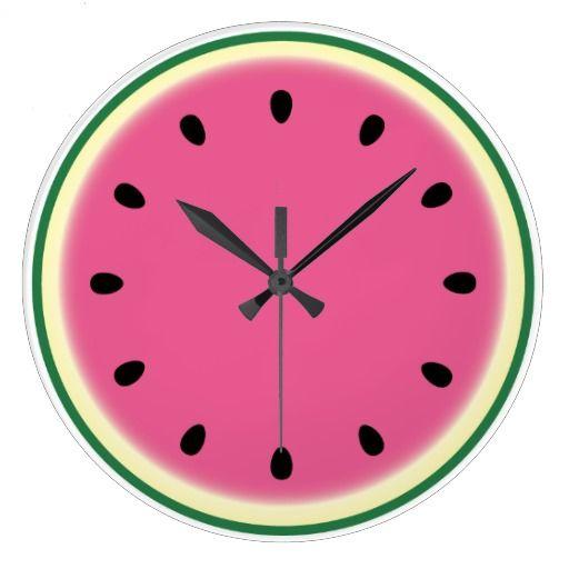 Clock Wall Kitchen