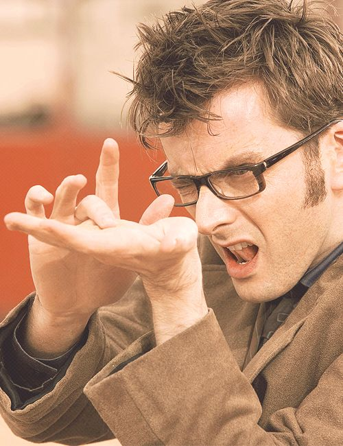 If I pinned all the fantastic pictures of David Tennant I saw, this board would be twice as big as it is already. <-- Weeelll.
