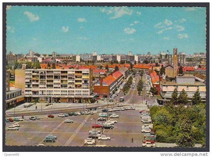 Nostalgie, het centrum van Amstelveen, in vroegere (betere?) tijden...