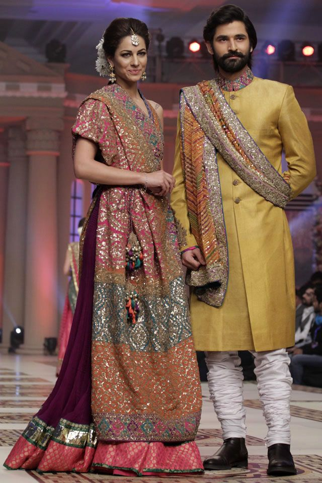 Umar Sayeed Telenor Bridal Couture Week 2014 Collection