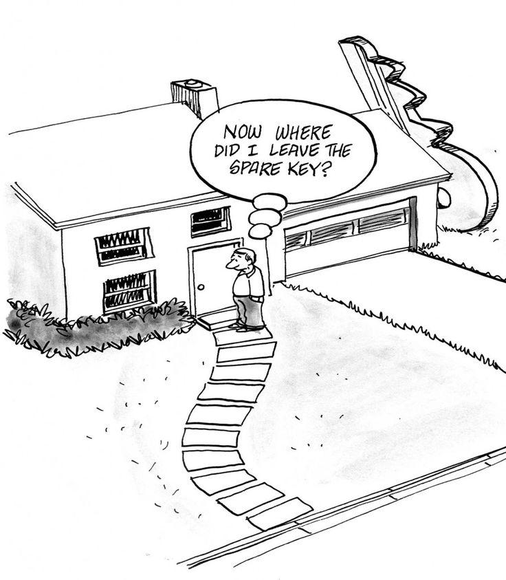 Qual è il nascondiglio migliore per le #chiavi di #casa?
