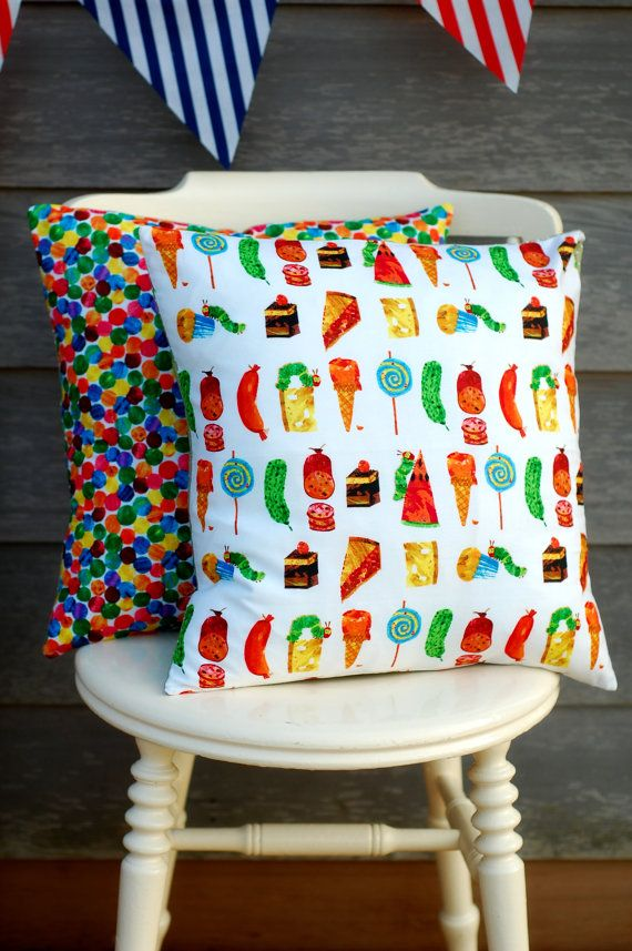 The Very Hungry Caterpillar Cushions!!.