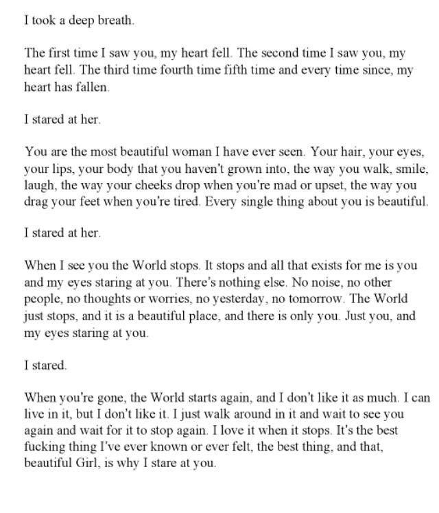 a million little pieces, james frey. my favorite part in the entire book.