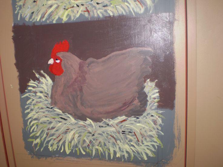 Clucky little red hen