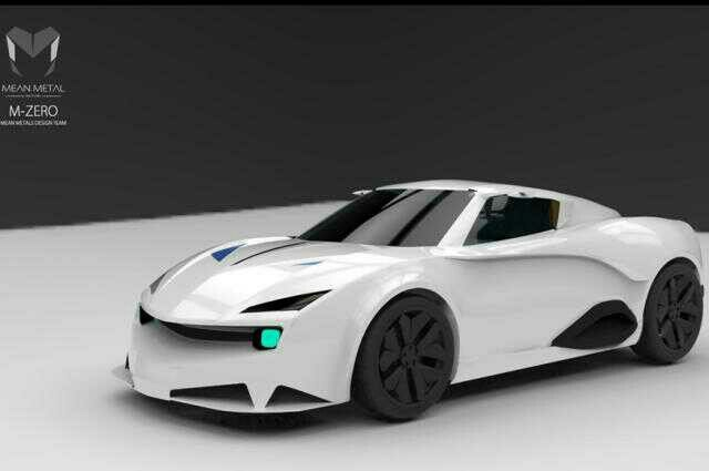 Mean Metal Motors M-Zero,  From India