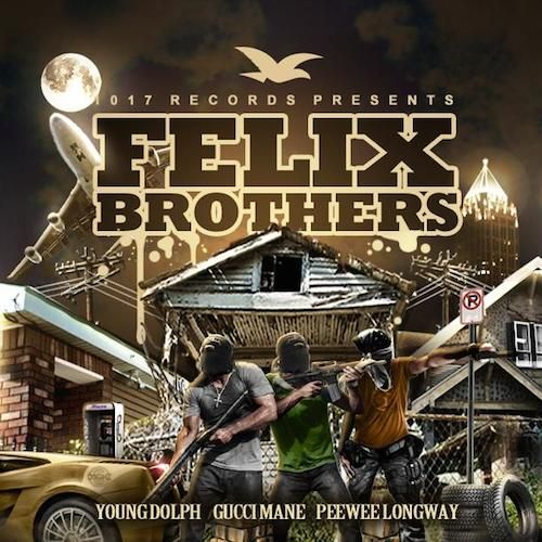 1017 Records drops another official mixtape project titled 'Felix Brothers'.  The Felix Brothers are Young Dolph, Gucci Mane, and PeeWee Longway.  Appearances by OJ Da Juiceman, Strap Da Fool, MPA Wicced, and MPA Duke.  Swing by today for this free download of Gucci Mane's latest official mixtape and be sure to browse through our large selection of top mixtapes.