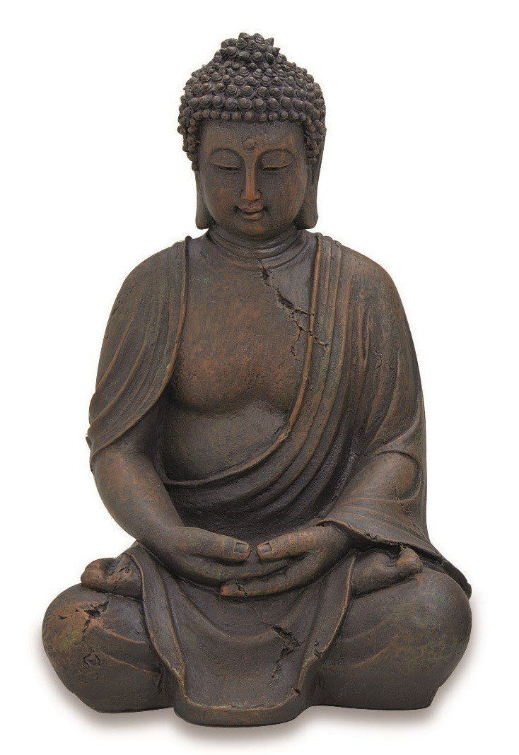 Hergestellt Aus Kunstharz Hohe Ca 40 Cm Statue Bouddha