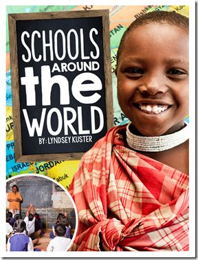 Schools Around the World...awesome unit for the beginning of the year