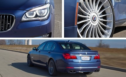 2013 #BMW #Alpina B7 LWB xDrive - So impressive and rare, it ought to flaunt such qualities more often.