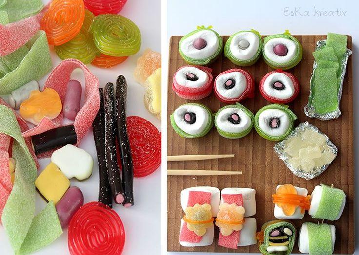Gummibärchen Haribo Sushi