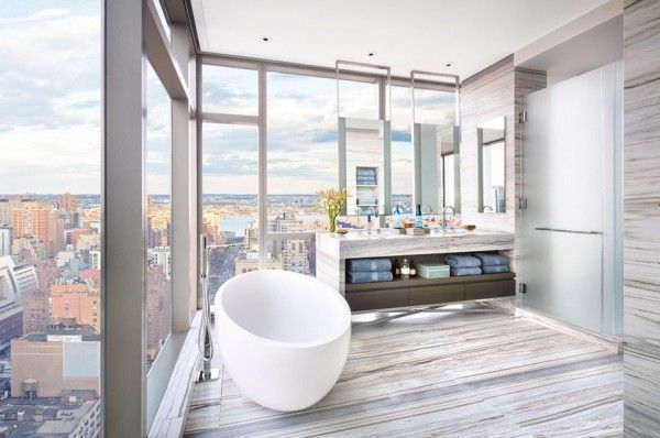 gisele bundchen and tom brady apartment at one madison new york bathroom designs pinterest artworks new york and gisele bundchen - New York Bathroom Design