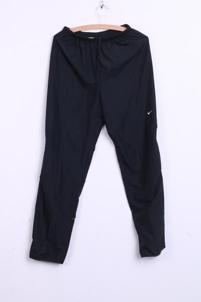 Nike Mens S Trousers Pants Tracksuit Bottoms Black Sport - RetrospectClothes