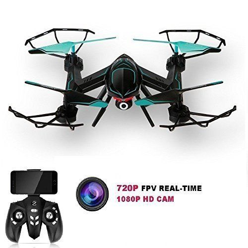 Drone Quadcopter WiFi FPV HD Camera Altitude Hold Headless Mode Beginners Gift   #DroneQuadcopterWiFiFPVHDCamera