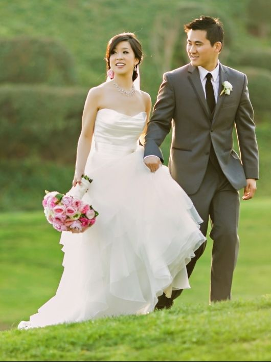 That would be me in my gorgeous Mikaella wedding gown! :)  Style 1659 | Mikaella Bridal #Real #Mikaella #Brides