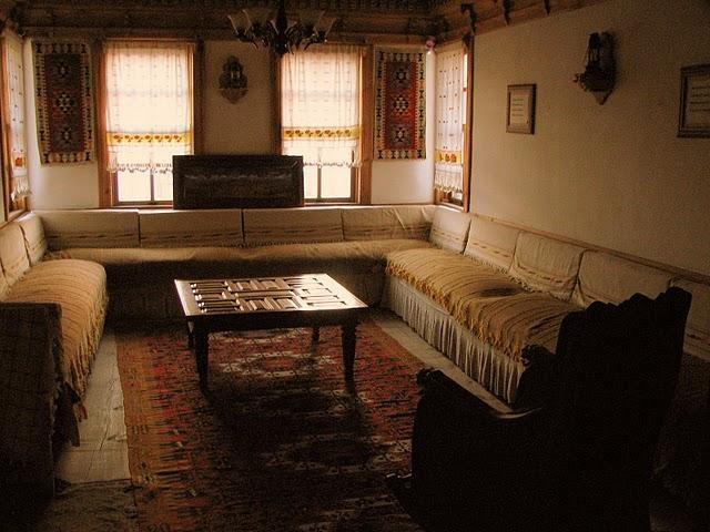 A historic home in Kastamonu, Black Sea region of Turkey