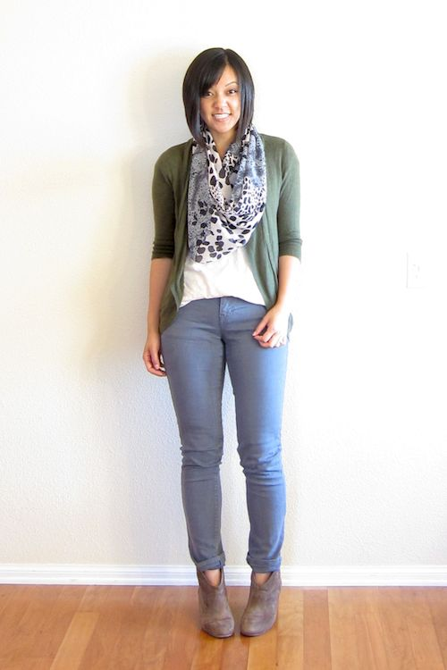 51 best images about style tips on pinterest belt nude - Olive green and grey ...