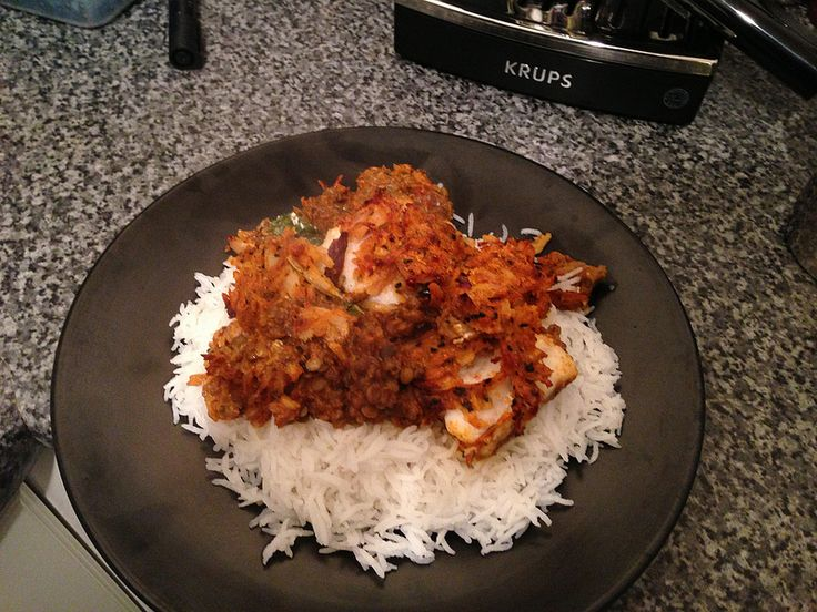 M&S cod balti (probably should have not had the rice with it as it was too dry)