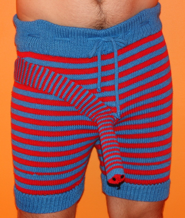 Dear GOD! The color is enough but the pattern...YIKES!!!! Underwear, snake pattern. $49.00, via Etsy.