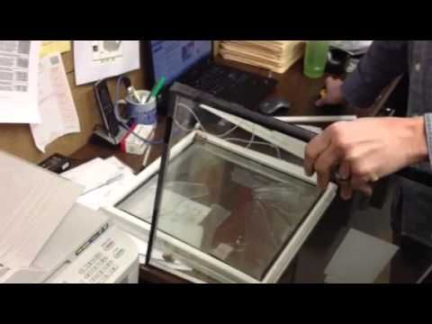 how to get rid of condensation between double pane windows
