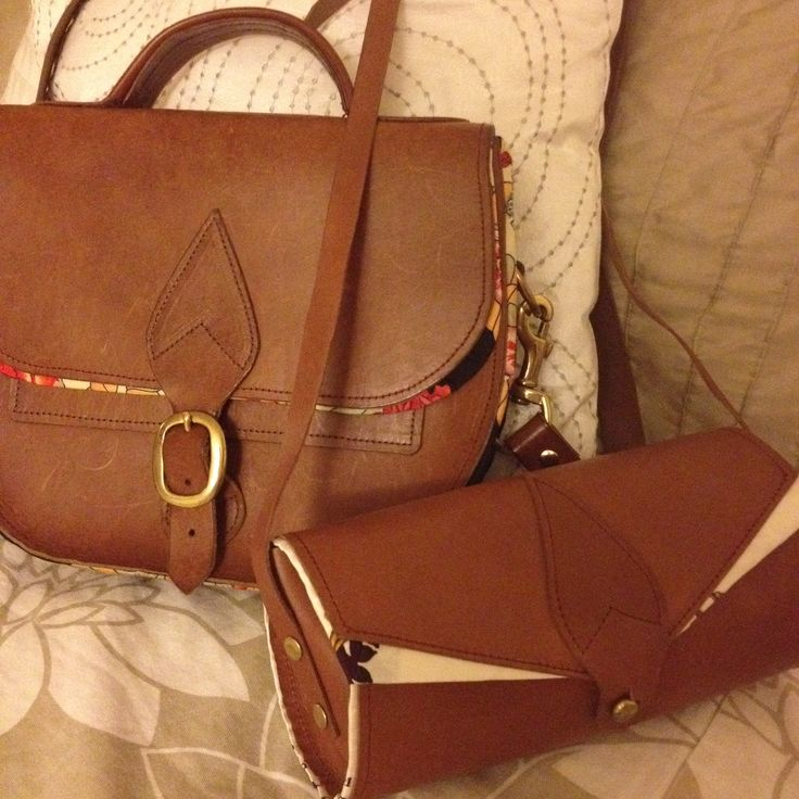 My two beloved Rosie Stallard bags