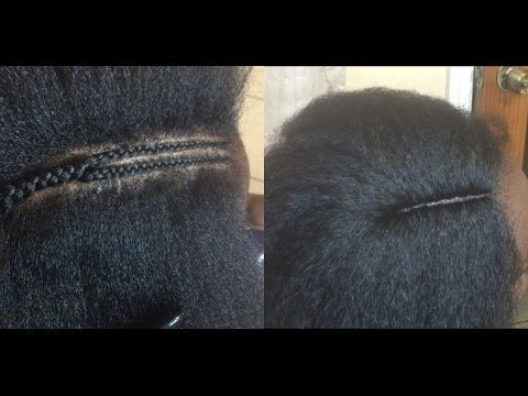 How To Get a Neat Invisible Part [Video] - http://community.blackhairinformation.com/video-gallery/braids-and-twists-videos/get-neat-invisible-part-video/