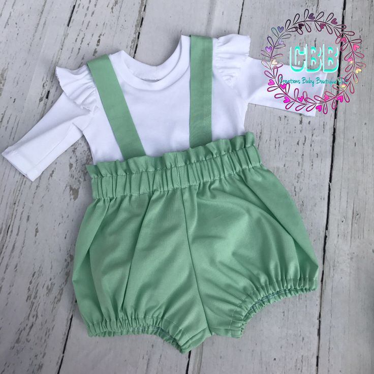 Baby girl Easter outfit , baby  easter set , easter dress , Baby outfit , baby girl romper set , baby bloomers by CreationsBabyB on Etsy https://www.etsy.com/listing/570030482/baby-girl-easter-outfit-baby-easter-set