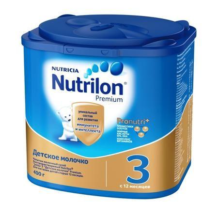 Nutrilon Детское молочко Junior 3, с 1 года  — 569р. ----------- NUTRILON® 3 Junior - детское молочко для детей старше года.   Цифра «3» в названии питания означает, что оно предназначено для питания детей после 1 года.   В каких случаях используется детское молочко?   Малыши старше года очень подвижны и любознательны. Чтобы малыш был полон энергии, правильно развивался и активно рос, ему требуется большее количество белка и микронутриентов – кальция, йода, других минеральных веществ и…