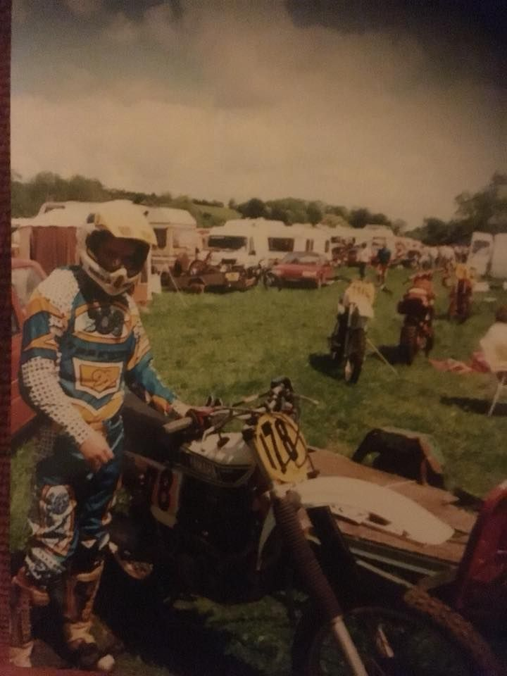 Farliegh Castle in about 1998 or 1999. Aberg Yamaha converted to a 600cc 3 speed and it was a beast one of the fastest motocross bike I ever rode.