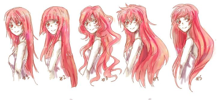 Hairstyles For Long Hair Drawing : ... Hairstyles Regular, Long Hair, Google Search, Drawing Hairstyles