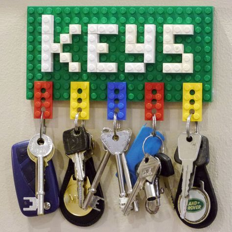 Picture of Lego Key Holder and Note Clip