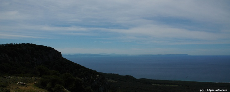 Cabo espartel desde la Sierra de San Bartolome