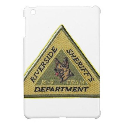 Riverside County Sheriff K-9 Case For The iPad Mini - law gifts lawyer business diy cyo personalize