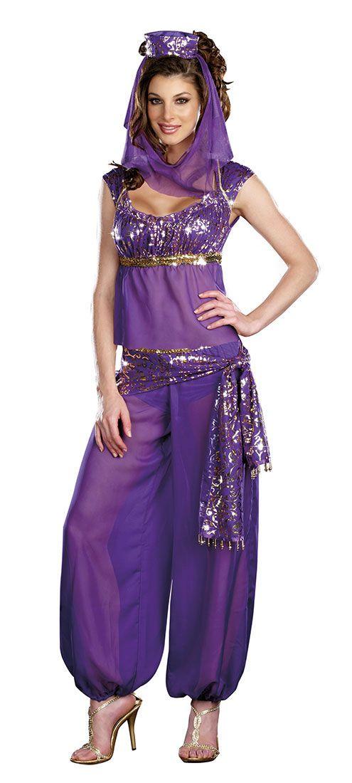 Ally Kazam Genie Adult Costume - Sexy Costumes - arabian costumes
