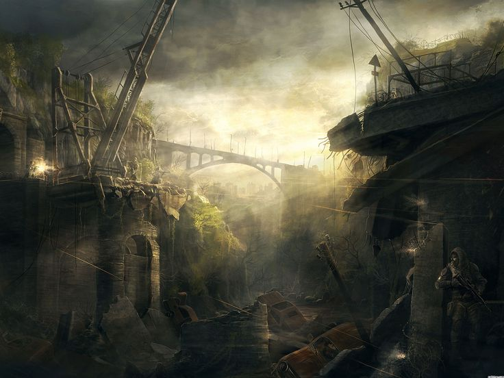 26 Best Post Apocalyptic Art Images On Pinterest Post