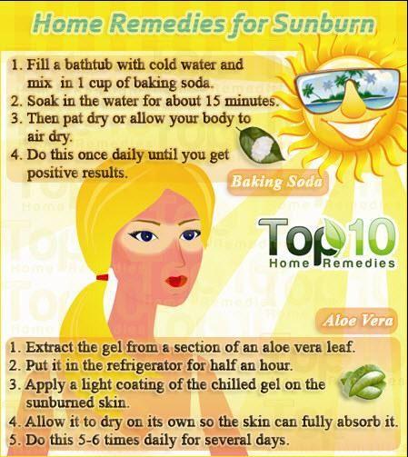 Instant Sunburn Cure!!! #Beauty #Trusper #Tip