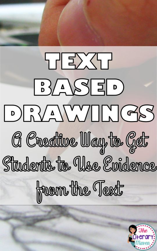Asking students to cite evidence for every single question they answer when reading and responding to a text might be good practice and ensure that they are reading closely, but it also becomes repetitive. One way to mix things up is to ask students to dr