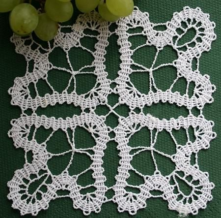 Advanced Embroidery Designs - Bruges Lace.