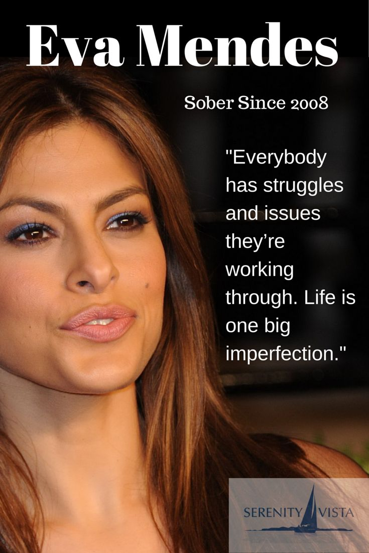 Awesome Eva Mendes   Sober Celebrity! Thanks Eva, For Sharing Your Story To Inspire  Others