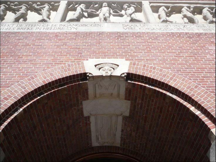 1083 - 12.08.2008 - Amsterdam - Hendrik Petrus Berlage, la Borsa di Amsterdam, 1895 (NL)