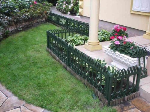 Bahçe Çiti Veranda Siyah Panel FRP-7 (60 x 100 cm)