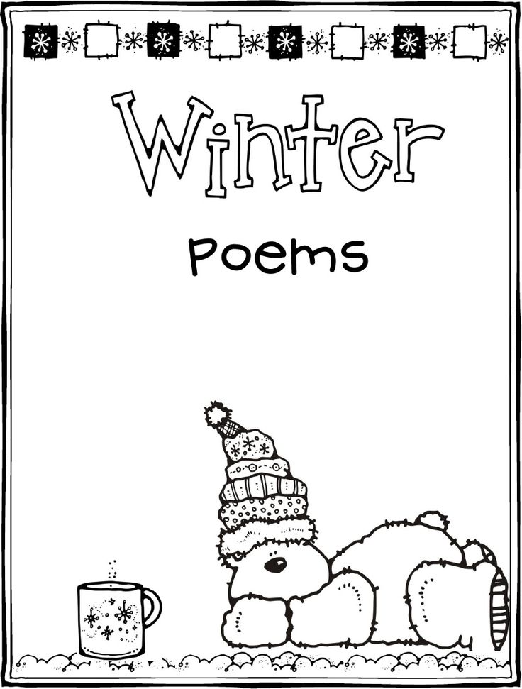 Winter Poems winter Pinterest