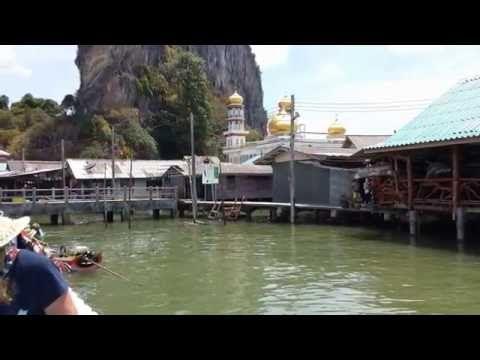 Koh Panyi - Floating Village - Phang Nga Bucht - Andamanensee - Süd Thai...