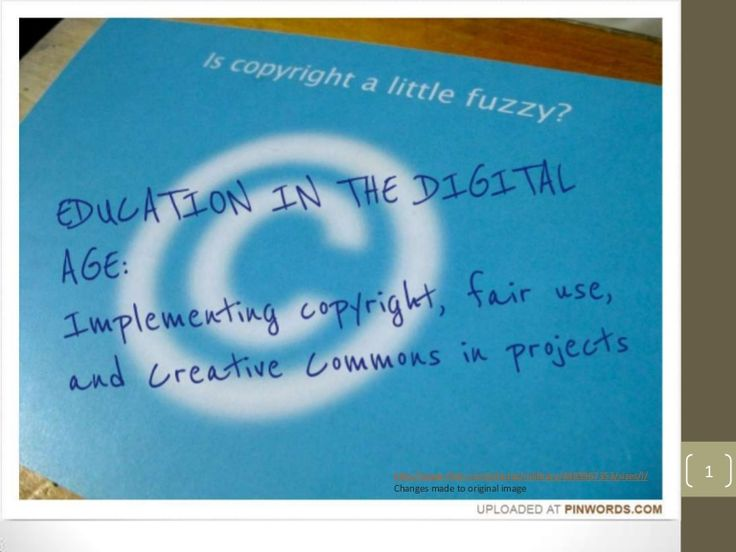 Copyright, Fair Use and Creative Commons in the Digital Classroom by naomibates via slideshare