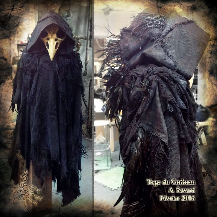 Raven Robe