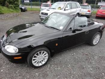 Perfect Used 2000 (S Reg) Black Mazda Mx 5 S CONRAN BLACK For