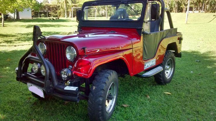 Jeep Willys 1966 4x4 Com Reduzida - Ano 1966 - 100000 km - em Mercado Livre