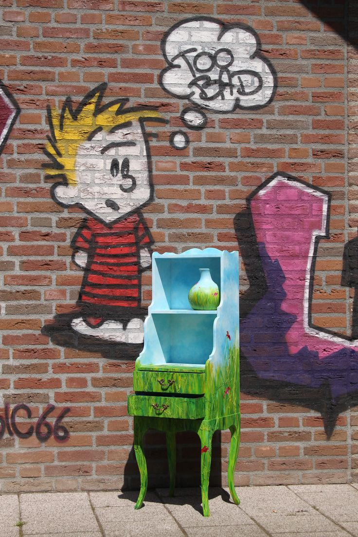Recycle - Gras kastje
