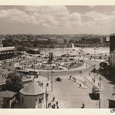 TAKSİM...1930 lar  Taksim, Beyoglu, Istanbul Taksim Square in the 1930s.